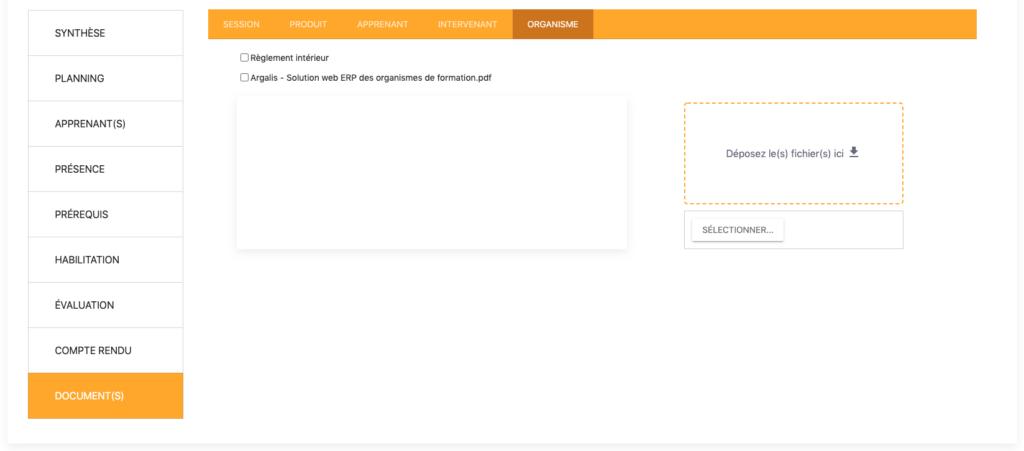 Partage facile de documents entre le formateur et l'organisme de formation via l'Extranet Intervenants